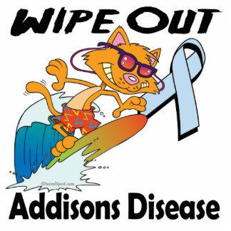 Limpie hacia fuera la enfermedad de Addisons Escultura Fotografica