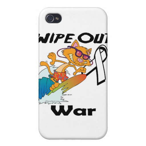Limpie hacia fuera la guerra iPhone 4 carcasas