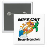 Limpie hacia fuera la neurofibromatosis pin