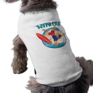 Limpie hacia fuera camiseta de perro