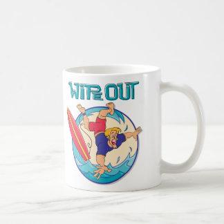 Limpie hacia fuera taza
