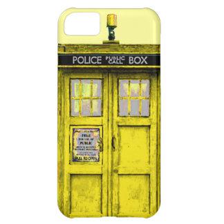 Limpie la caja (amarilla) pública del iPhone 5 de