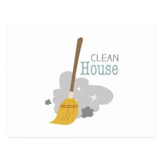 Limpie la casa postal