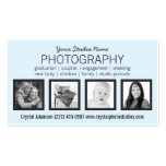 Limpie las 4 fotos modernas cualquier profesión tarjetas de visita