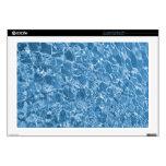Limpie las ondas azules 43,2cm portátil calcomanía