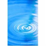Limpie las ondulaciones del agua azul esculturas fotograficas
