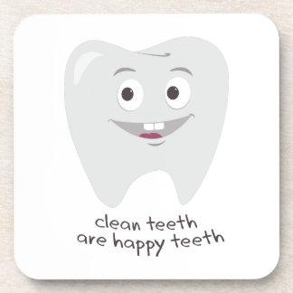Limpie los dientes posavasos
