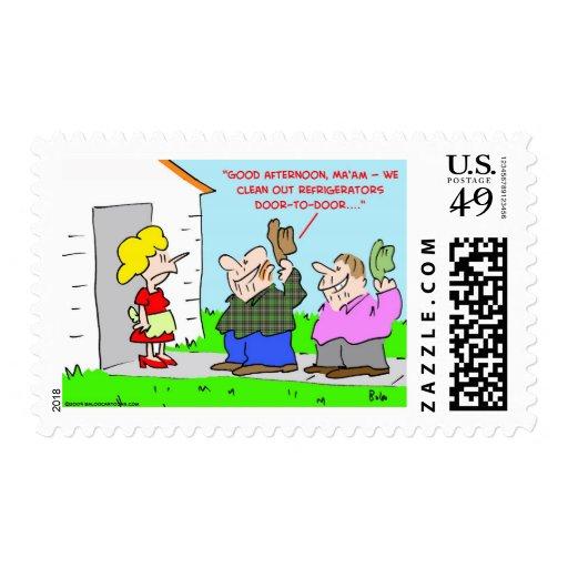 limpie los refrigeradores a domicilio franqueo