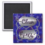 Limpie N 1 patriótico sucio (el imán del lavaplato