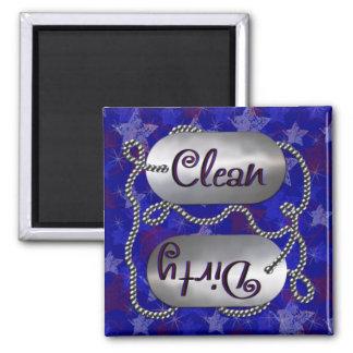 Limpie N 1 patriótico sucio el imán del lavaplato