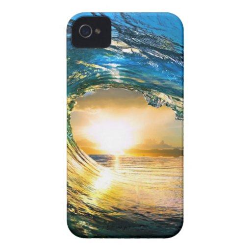 limpie ocean.jpg Case-Mate iPhone 4 cárcasa