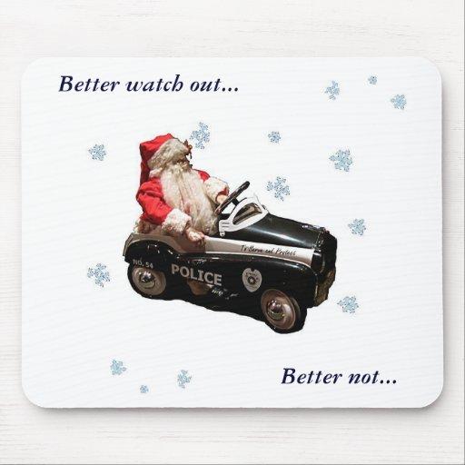 Limpie Santa mejor tienen cuidado…, sean… Tapetes De Ratones