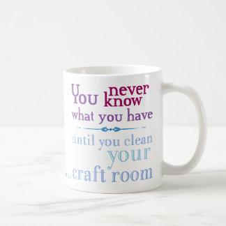 Limpie su sitio del arte taza