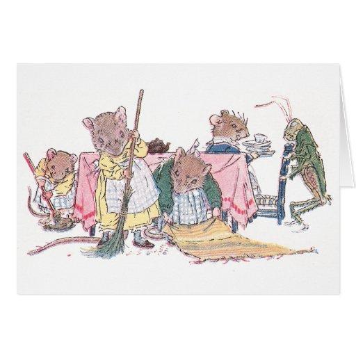 Limpieza de los ratones, el barrer, etc. tarjetas