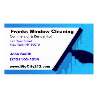 Limpieza de ventana ADAPTABLE A.C. Tarjetas De Visita