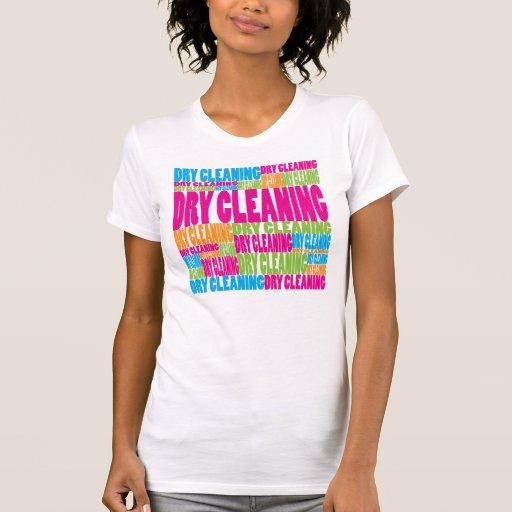 Limpieza en seco colorida t shirt