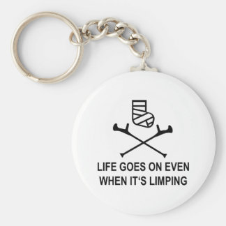 limping keychain