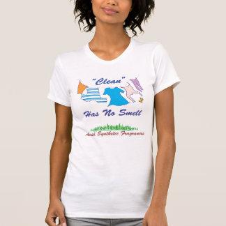 """""""Limpio"""" no tiene ningún olor - (el pastel) Camiseta"""