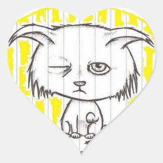 Limpy Heart Sticker