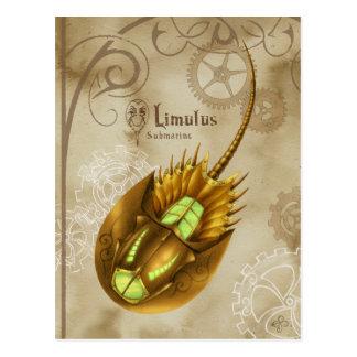 Limulus Submarine Postcard
