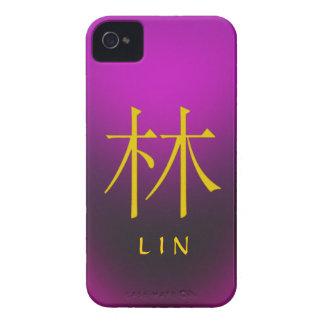 Lin Monogram Case-Mate iPhone 4 Cases