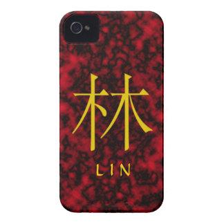 Lin Monogram iPhone 4 Cover