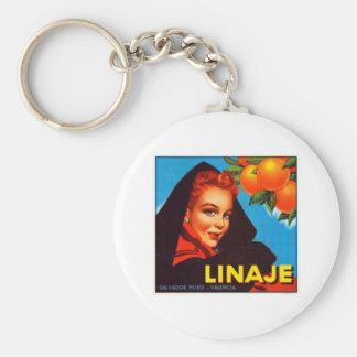 Linaje Valencia Oranges Keychain