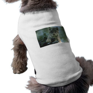 Lince adorable del bebé camisa de mascota