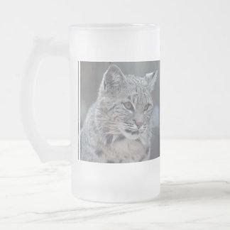 Lince asombroso taza de cristal