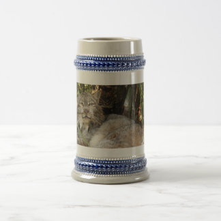 Lince canadiense 0339e jarra de cerveza