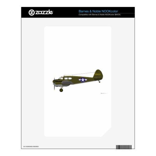 Lince de Cessna UC-78 NOOK Color Skins