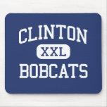 Linces Clinton medio Wisconsin de Clinton Alfombrilla De Ratón