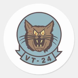 Linces VT-24 Pegatinas Redondas