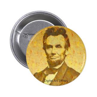 Lincoln 1864 Portrait Pinback Button