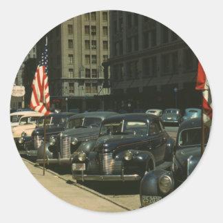 Lincoln 1942 pegatina redonda