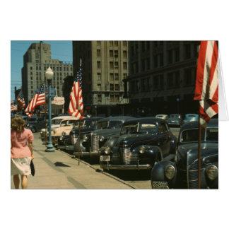 Lincoln 1942 tarjeta de felicitación
