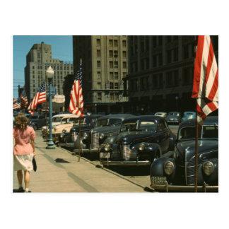Lincoln 1942 tarjeta postal