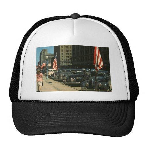 Lincoln 1942 trucker hat