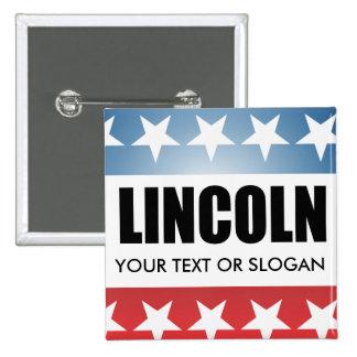 LINCOLN 2010 BUTTON