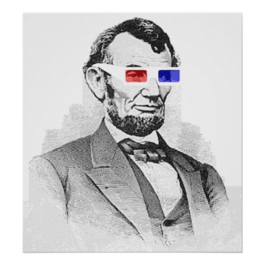 Lincoln 3D Poster