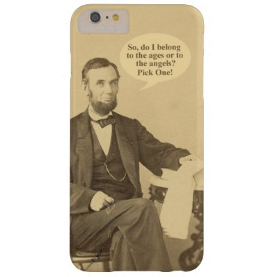 Lincoln Ages or Angels Historic Quote Barely There iPhone 6 Plus Case