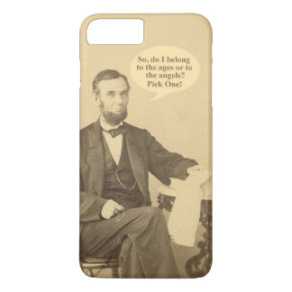Lincoln Ages or Angels Historic Quote iPhone 8 Plus/7 Plus Case