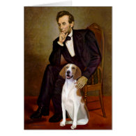 Lincoln - American Foxhound Card