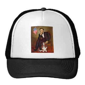 Lincoln and Basset #2 Mesh Hats