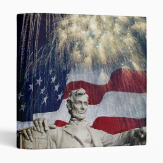 Lincoln and Fireworks Binder