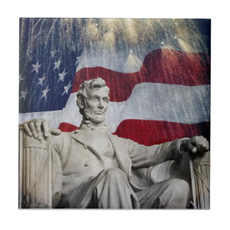 Lincoln and Fireworks Tiles