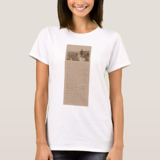 Lincoln and The Gettysburg Address T-Shirt