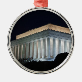Lincoln at Night Ornament