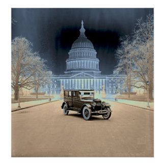 Lincoln at the White House 1922 Posters