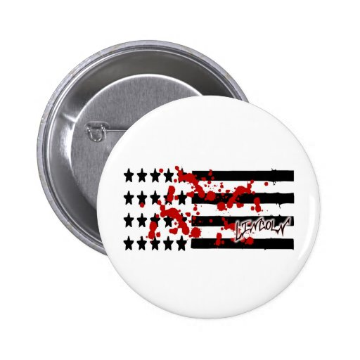 Lincoln Bandera-Sangriento americano Pins